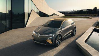 """<p class=""""title"""">               Renault Mégane SUV             </p><p>Futuristisch, elektrisch, gut: Das Renault Megane eVision Showcar stößt in neue Dimensionen der Elektrofahrzeuge vor. Ausgestattet mit den modernsten Technologien ebnet seine CMF-EV-Plattform den Weg zur Performance der Zukunft. Wann er auf dem Markt erscheint steht noch nicht fest.</p>"""
