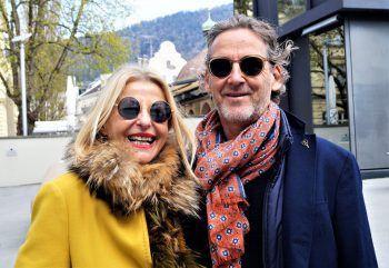 """<p class=""""caption"""">Rita Mittelberger und Architekt Anton Nachbaur-Sturm.</p>"""