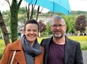 """<p class=""""caption"""">Sabrina Masal (Amazone) und Matthias Weissengruber.</p>"""