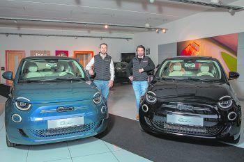 Schnittiges Design und innovative Features – der vollelektrische Fiat 500 ist das perfekte Alltagsauto. Fotos: handout/Fiat
