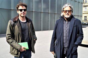 """<p class=""""caption"""">Stefan Thanei und Architekt Ulf Hiessberger.</p>"""