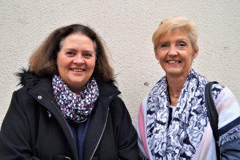 """<p class=""""caption"""">Susanne Weis und Helene Schmidinger.</p>"""