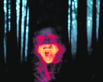 """""""The Screaming Man"""": Diese Aufnahme mit Langzeit- und Doppelbelichtung ist ein Selbstportrait des Koblachers.Fotos: handout/Fitz"""