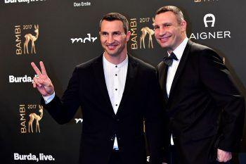 """<p class=""""title"""">               Wladimir und Vitali Klitschko             </p><p>Die Gebrüder Klitschko gehören weltweit zu den bekanntesten Ukrainern. Sie dominierten lange Zeit das Schwergewichtsboxen und machten ihrem Heimatland alle Ehre. Die Profisportler erfreuen sich auch in Deutschland großer Bekanntheit.</p>"""