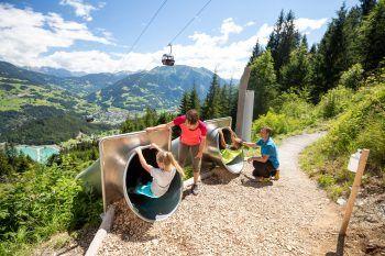 Action garantiert: Der Waldrutschenpark am Golm ist einen Ausflug wert! Fotos: handout/Golm Silvretta Lünersee Tourismus GmbH Bregenz, Stefan Kothner