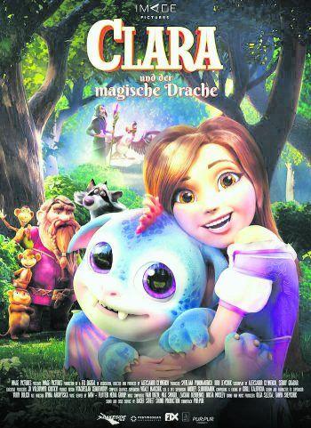 """""""Clara und der magische Drache"""" startete vor Kurzem in den Kinos. Foto: Einhorn Film"""