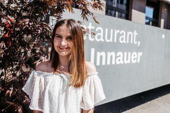 """<p class=""""caption"""">Das Restaurant Innauer in Dornbirn verwöhnt seine Gäste mit modernen Speisen – ein Besuch lohnt sich!</p>"""