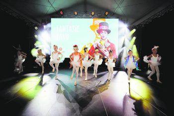 """<p class=""""caption"""">Die Kids gaben auf der Bühne richtig Gas. Fotos: Dance Art</p>"""