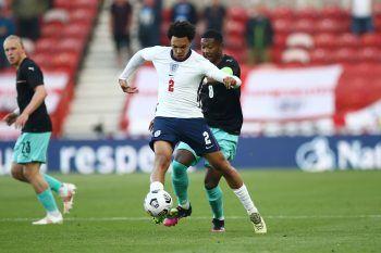 """<p class=""""caption"""">Die ÖFB-Auswahl musste sich letzten Mittwoch dem EM-Mitfavoriten England mit 0:1 (0:0) geschlagen geben. Fotos: GEPA</p>"""