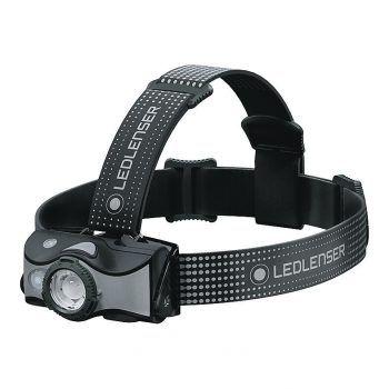 """<p class=""""caption"""">Die Stirnlampe von """"Ledlenser"""" umfasst einen wiederaufladbaren Akku und leuchtet bis zu 200 Meter weit. Preis: 54,99 Euro.</p>"""
