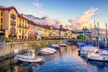Ein Shopping-Erlebnis der ganz besonderen Art wartet inmitten der italienischen Alpen. Fotos: handout/Weiss Reisen