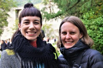 Esther Maria Köb (Landestheater) und Julia Ruspekhofer.