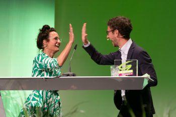 Eva Hammerer und Daniel Zadra stehen nun gemeinsam an der Parteispitze.Foto: APA
