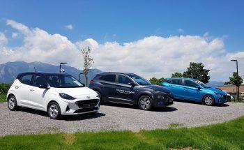 """<p class=""""caption"""">Im Fleetcenter in Rankweil kann man sich über die neuesten Hyundai-Modelle</p><p class=""""caption"""">informieren.</p>"""