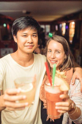 """<p class=""""caption"""">Im Mr. John's kann man leckere Drinks genießen – mit Abstand und der 3G-Regel ist man beim """"Furt go"""" in den Dornbirner Lokalen auf der sicheren Seite.</p>"""
