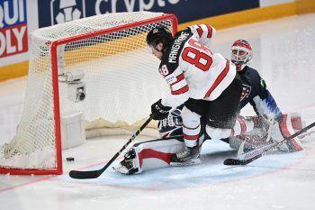 Kanada setzte sich gestern mit 4:2 gegen die USA durch. Foto: GEPA