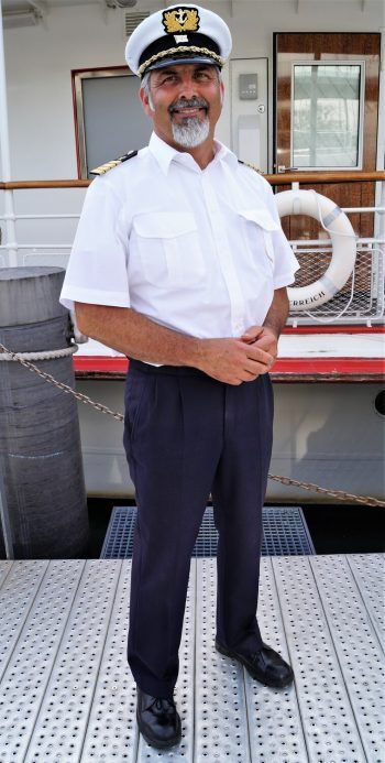 Kapitän Robert Kössler.
