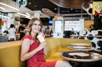 """<p class=""""caption"""">McDonald's ist auch in Rankweil vertreten – hier bekommt man immer wieder neue Mc-Kreationen.</p>"""