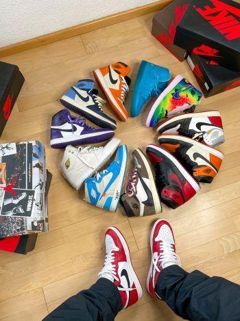 """<p class=""""caption"""">Schuhe sind Dominics Leidenschaft.</p>"""