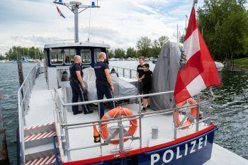 """<p class=""""caption"""">Valentin und Maximilian waren bei der Polizei.</p>"""