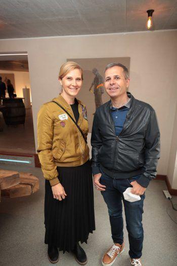 """<p class=""""caption"""">Yvonne Loretz-Martin und Bertram Loretz.</p>"""