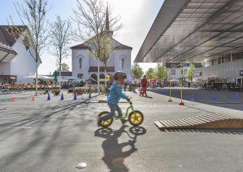 """Am 31. Juli dreht sich in Lustenau alles um das Thema """"Rad"""". Fotos: handout/Lukas Hämmerle"""