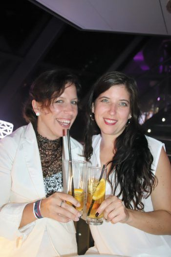 "<p class=""caption"">Anja Ehe, Angela Duelli.</p>"