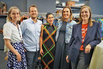 Das Carla-Team: (v.l.) Elisabeth Hämmerle, Philipp Fessler, Birgit Mayer, Karoline Mätzler und Julia Jussel.
