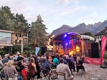 """Das """"Jazz & Groove""""-Festival bringt heimische und internationale Künstler*innen auf die Bühne. Fotos: handout/Bludenz Kultur; Jim Rakete; Patricia Keckeis; Studio Haesel"""