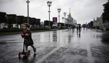 Die Fünfjährige büxte aus und ging Rollerfahren.Symbolfoto: AFP