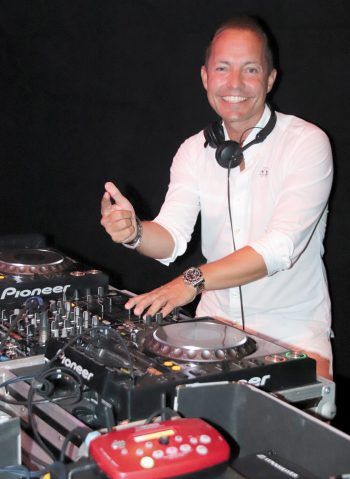 """<p class=""""caption"""">DJ F.A.B. in Action.</p>"""