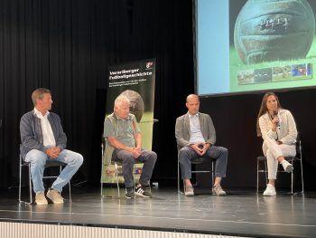 Gerhard Ritter, Helmut Metzler, Ralph Pezzey und Sabrina Horvat.