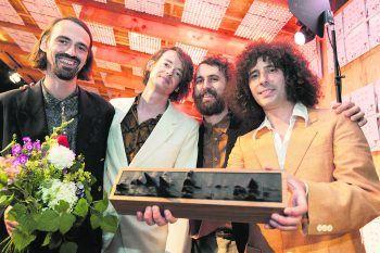 Hearts Hearts sind die Sieger der Kategorie Rock/Pop. Fotos: ORF Vorarlberg