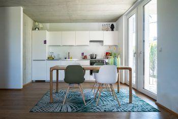 In der vollmöblierten Musterwohnung kann man sich selbst vom RIVA-Wohngefühl überzeugen.