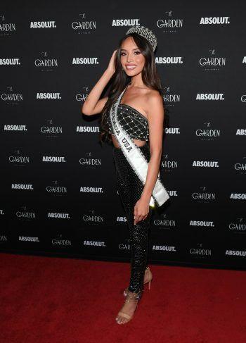 """Las Vegas. Schönheitskönigin: Kataluna Enriquez wurde zur """"Miss Nevada 2021"""" gekürt."""