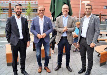 "<p class=""caption"">Michael Öhler, Dieter Egger, Niko Piza und Ok Ugur.</p>"