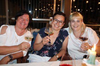 """<p class=""""caption"""">Monika Kleiner, Sabine Schneider und Claudia Gigler.</p>"""