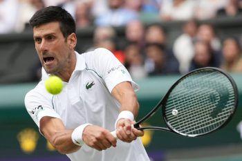Novak Djokovic könnte heute mit Federer und Nadal gleichziehen.Foto: AP