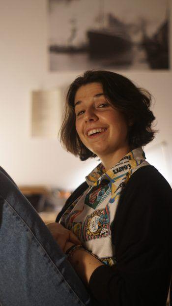"""<p class=""""caption"""">Pauline Tagwerker aus Feldkirch gibt Einblick in ihre Studienzeit während der Corona-Pandemie.</p>"""
