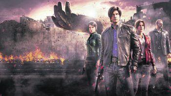 Resident Evil: Infinite DarknessNetflix, Serie, Animation/Horror. Diese auf den Games basierende Mini-Serie spielt rund vier Jahre nach den Geschehnissen in Resident Evil. Im Mittelpunkt stehen erneut Claire Redfield und Leon S. Kennedy. Ab sofort.