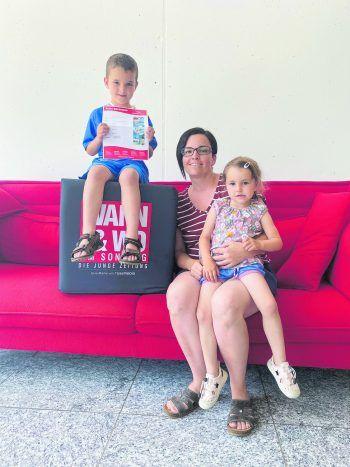 """Sabine Meier hat den Gutschein von Herburger Reisen gewonnen: """"Ich freue mich riesig über diesen Gutschein – vielen Dank!"""""""