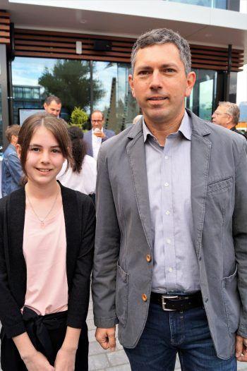 "<p class=""caption"">Stadtrat Markus Klien mit Tochter Miriam.</p>"