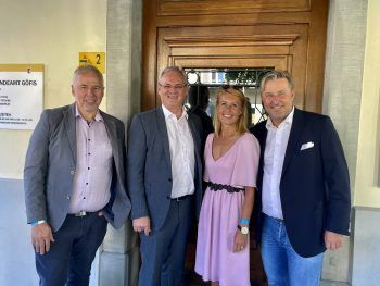 Thomas Lampert, Harald Sonderegger, Petra Kreuzer, Karl Zimmermann.