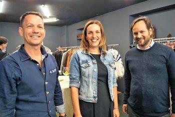 """<p class=""""caption"""">Tourismusdirektor Robert Salant, Carla-Bereichsleiterin Karoline Mätzler und Christian Dosch von Prisma.</p>"""