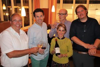 Walter Pfanner, Andreas Wickhoff, Thomas Klinger, Anna Alacker-Lang und Florian Rapp.