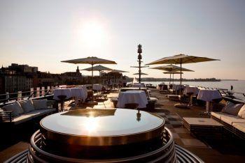 """<p class=""""caption"""">Wunderschöne Sonnenuntergänge gibt es auf der MS Sonnenkönigin.Fotos: handout/Sonnenkönigin</p>"""