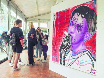 Anfang September steht Bregenz wieder ganz im Zeichen junger Künstler.