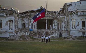 Das gestrige Erdbeben weckt schlimme Erinnerungen an das verheerende Beben im Jahr 2010, bei dem über 200.000 Menschen ihr Leben verloren.Foto: AP/dapd
