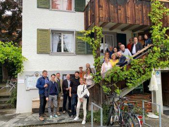 Die Mitglieder der BFG freuten sich sehr über den gelungenen Vereinsausflug. Foto: BFG
