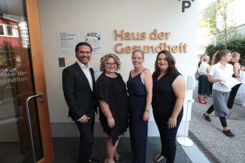 Zahnärzte Boris Christof und Veronika Vilimek, Kinderärztinnen Alexandra Rümmele-Waibel und Barbara Studer.